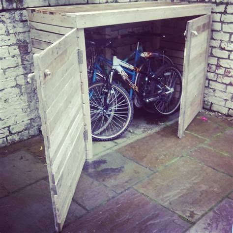 Your Bike Shed by Upcycled Pallet Bike Shed Pallet Ideas Recycled