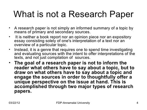 how to write a formal research paper how to write a research paper