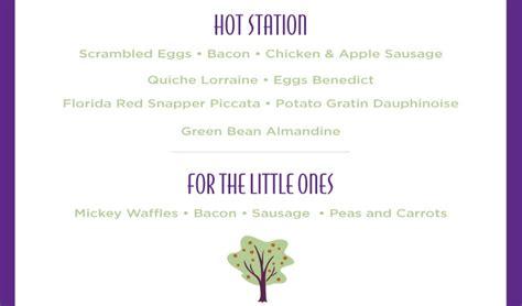 Garden Grove Disney Menu News S Day Meals At The Walt Disney World Swan And