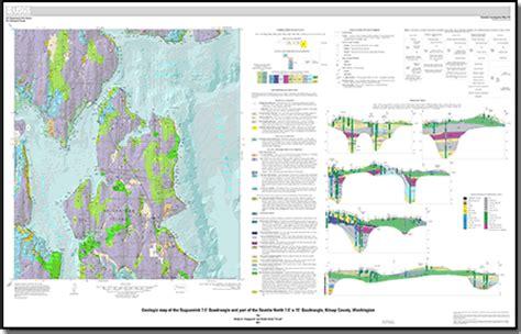 seattle geologic map geologic map of the suquamish 7 5 quadrangle and part of