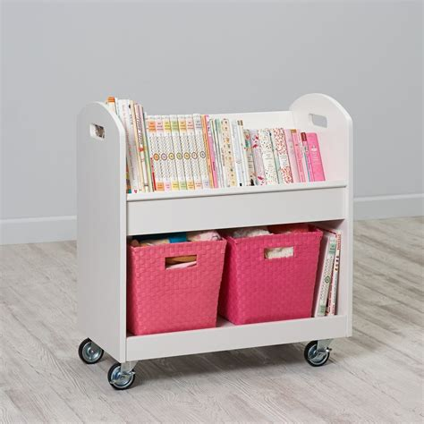 book storage the land of nod local branch library cart storage