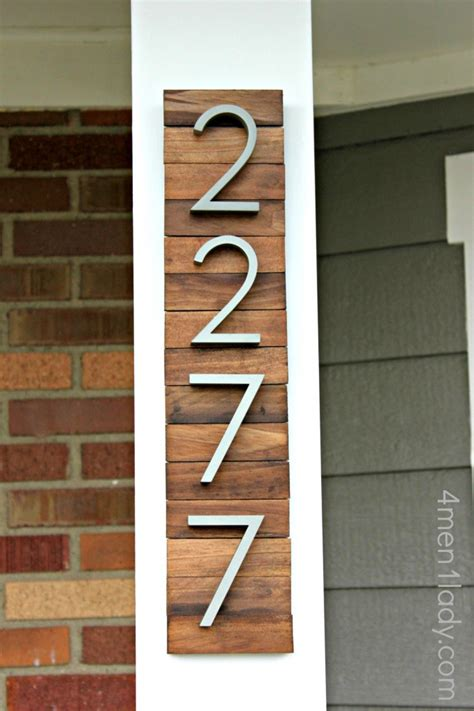 house numbers plaque diy house number plaque www imgkid com the image kid