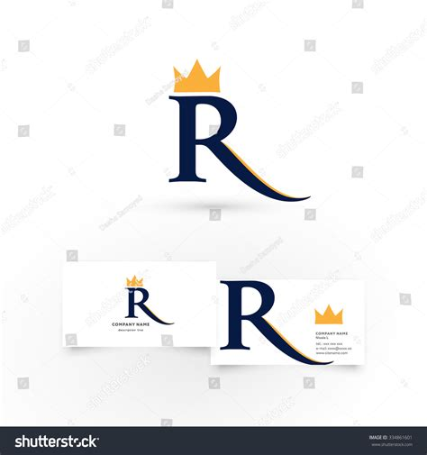Letter With Crown