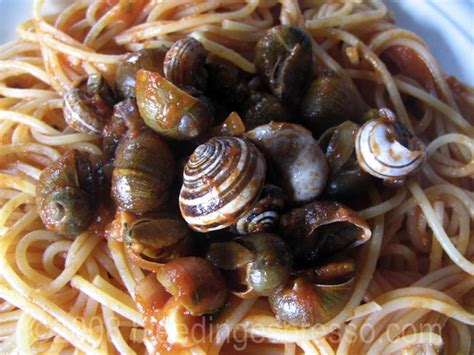 my s nail is bleeding what s cooking wednesday pasta with snails alla calabrese bleeding espresso