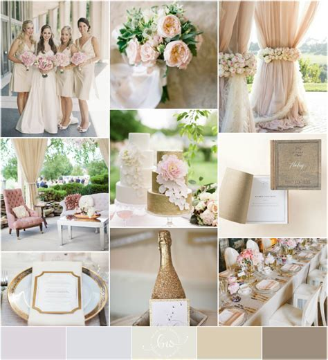 Champagne and Gold Wedding (Reader Request   My