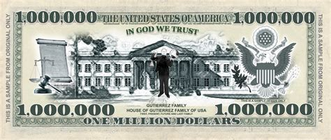 1 million dollar new generation million and billion dollar bill banknotes