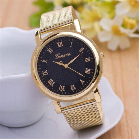 Geneva Watches Intl buyincoins fashion classic geneva stainless steel