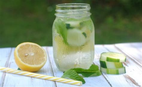 Cucumber Lemon Honey Detox Water by 8 Detox Water Recipes That Flush Out And Toxins