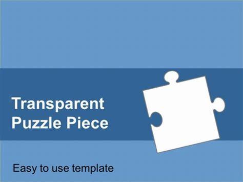 transparent puzzle piece template
