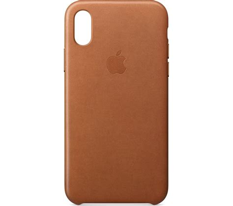 apple x case buy apple iphone x leather case saddle brown free