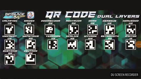 Qr Codes Beyblade Burst Youtube