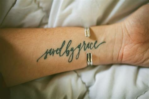 saved by grace tattoo ideas pinterest