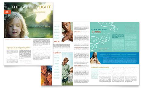 layout newsletter word christian church religious newsletter template word