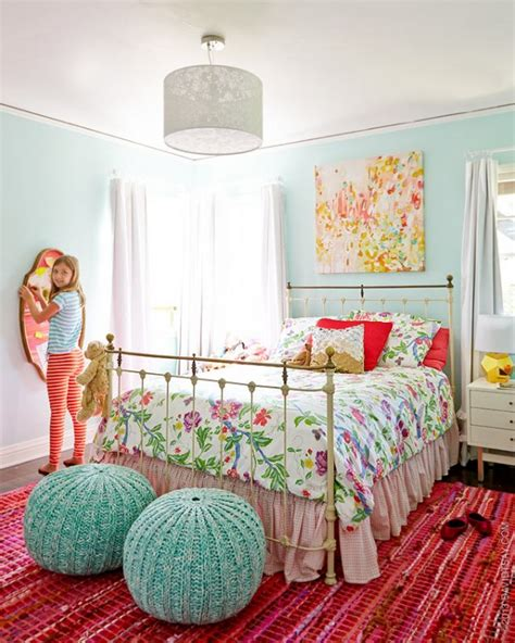 girls room colors bright colorful tween bedroom design dazzle