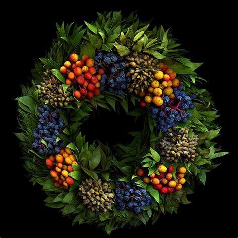 dry fruits wreath wonderful wreaths pinterest