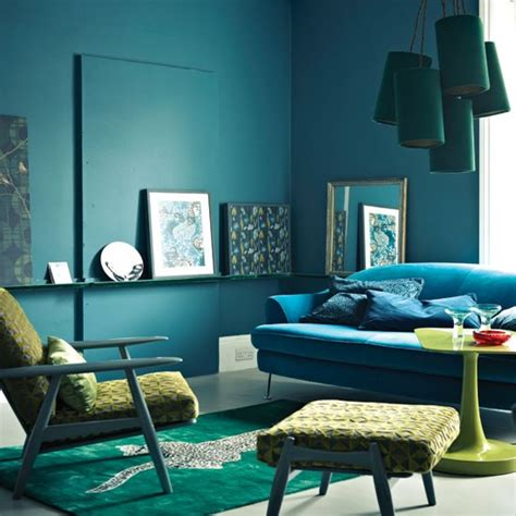blue green living room blue green decor feng shui elements interior design
