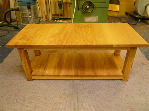 Handmade Oak Tables - handmade oak coffee table quercus furniture