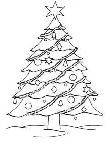free coloring pages christmas tree coloring pages