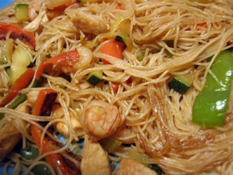 como cocinar fideos de arroz chinos fideos de arroz fritos con verdura receta petitchef