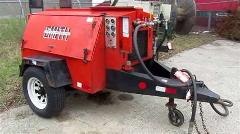 smith model 100 towable air compressor for sale auction