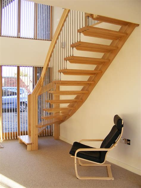 Timber Stairs Design Bespoke Timber Staircase Coventry Spiral Staircases And Staircases