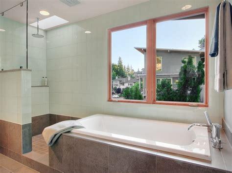 bathroom los angeles modern usa decor design tub shower combo bathroom contemporary with tan tile floor