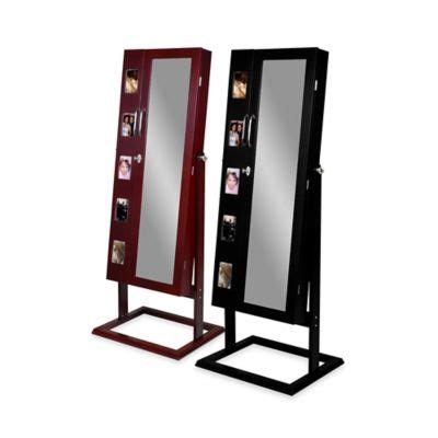 black standing jewelry armoire buy jewelry armoire from bed bath beyond