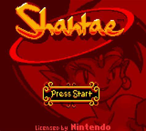 shantae gameboy color shantae usa gbc rom cdromance