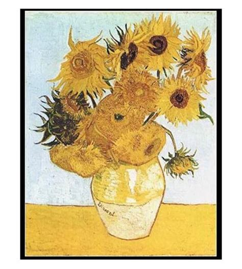 Vase Of Sunflowers Vincent Van Gogh Fineart No