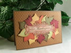handmade thanksgiving card