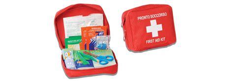kit cassetta pronto soccorso soft kit di pronto soccorso per casa e auto privata