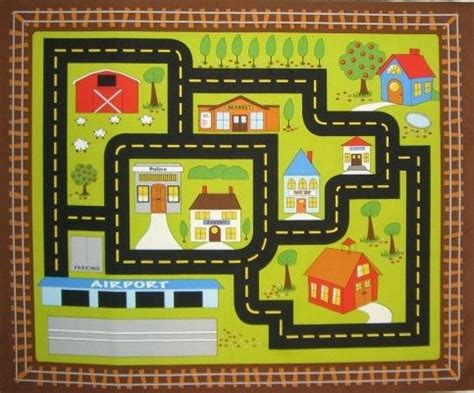 printable road maps for toy cars 17 best images about kids fabric on pinterest cars