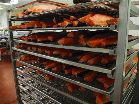 Salmon Rack by Nyc Institutions Acme Smoked Fish A Continuous Lean