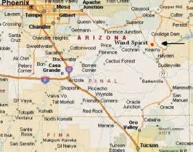 arizona mile marker map directions ws