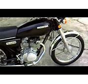 Honda Cg 125  1990wmv YouTube