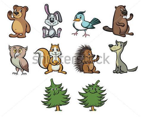 imagenes animales que viven en el bosque animales del bosque caricatura imagui