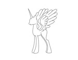 mlp template best photos of my pony alicorn template my