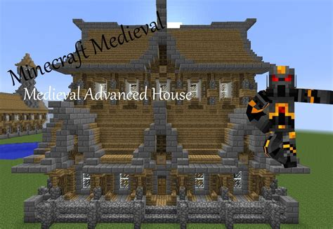 how to make a house a home minecraft medieval advanced house tutorial part 2 of 3