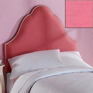 pink fabric headboard pink headboard twin headboard and headboards on pinterest