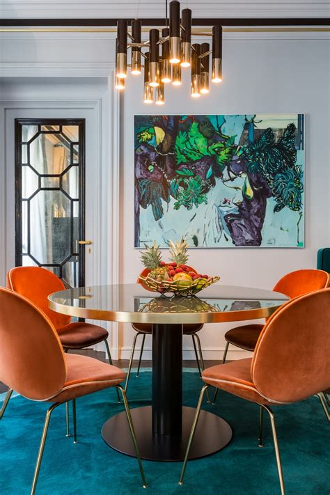 colorful dining room chairs get ready for summer with these colorful dining room ideas