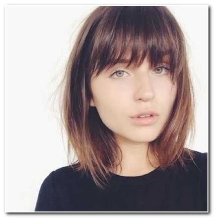 fringe hairstyles for shoulder length hair | new hairstyle