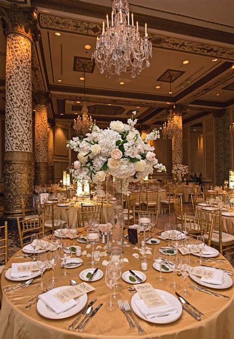 reception d 233 cor photos indoor garden inspired reception space inside weddings gold wedding reception tables reception d 233 cor photos gold table linens with