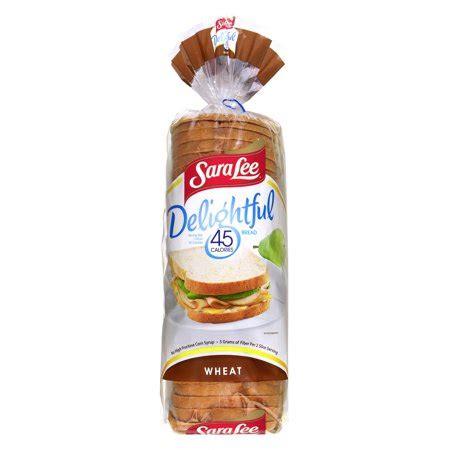 sara lee delightful 45 calories wheat bread, 4.0 oz