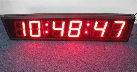 Wall Clock Digital large led countdown timer large led digital wall clock