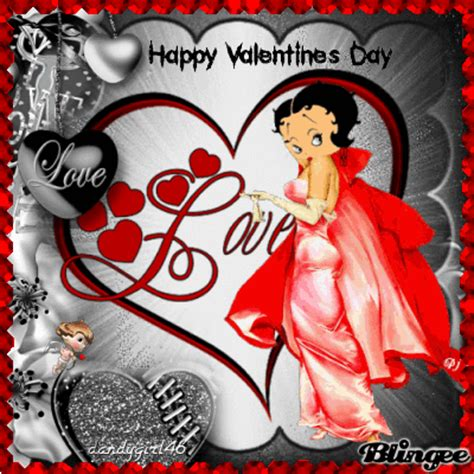 happy valentines day betty boop betty is in happy s day bb picture