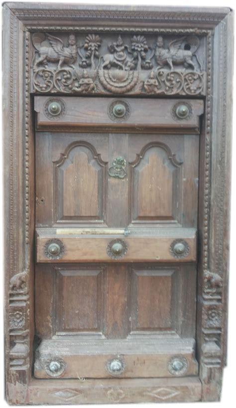 wooden door set   home  give  smart  antique