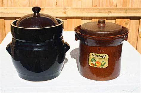 10 liter capacity ceramic fermentation crock pot sauerkraut crock