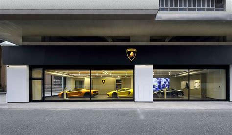 lamborghini showroom building lamborghini opens new showroom in macau supercar report