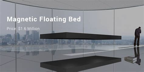 magnetic floating bed 10 most expensive priced beds and mattresses list