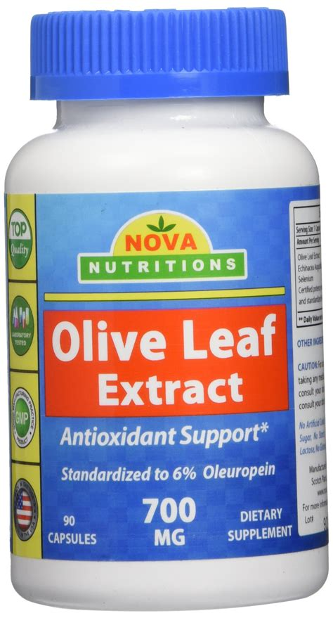 Does Olive Leaf Extract Detox The by Galleon Nutritions Olive Leaf Extract 700 Mg 90